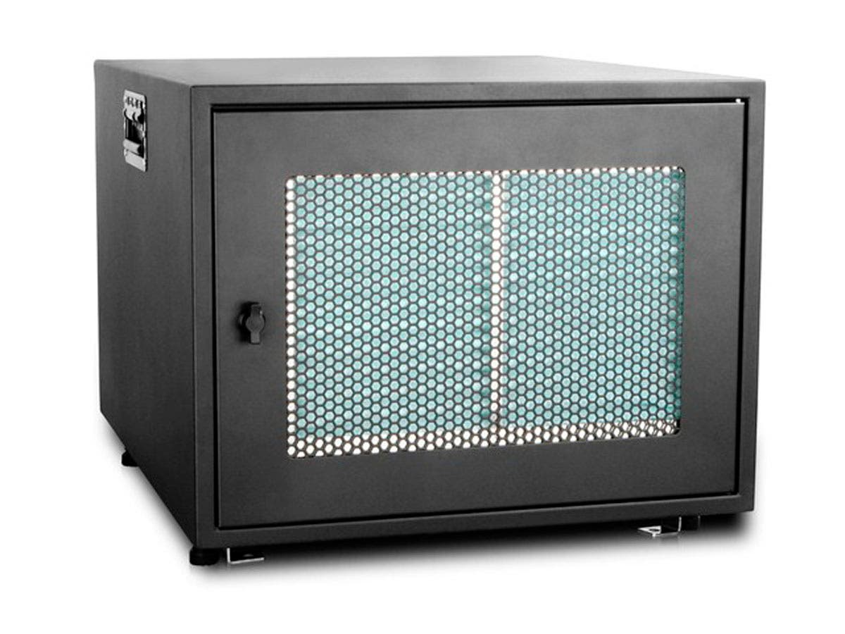 Monoprice 8U 700mm Depth Rack-mount Server Cabinet-Large-Image-1