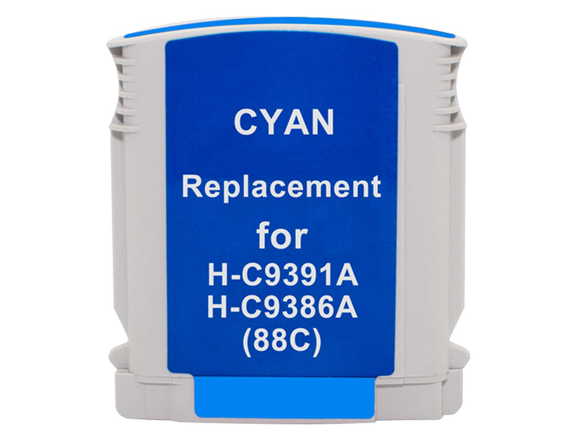 MPI Compatible HP 88XLC (C9391AN/9386AN) Inkjet-Cyan