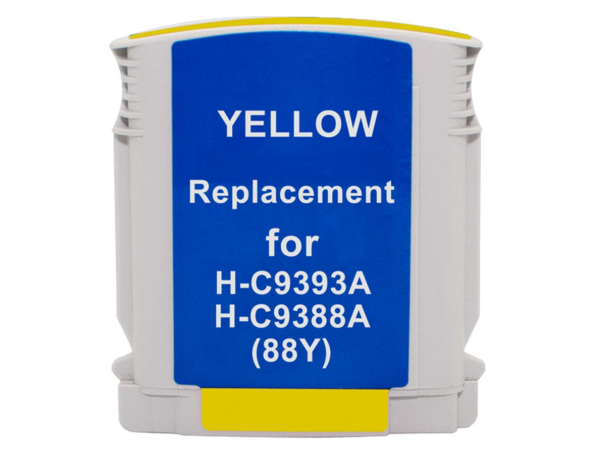 Monoprice Compatible HP 88XLY (C9393AN/C9388AN) Inkjet-Yellow-Large-Image-1
