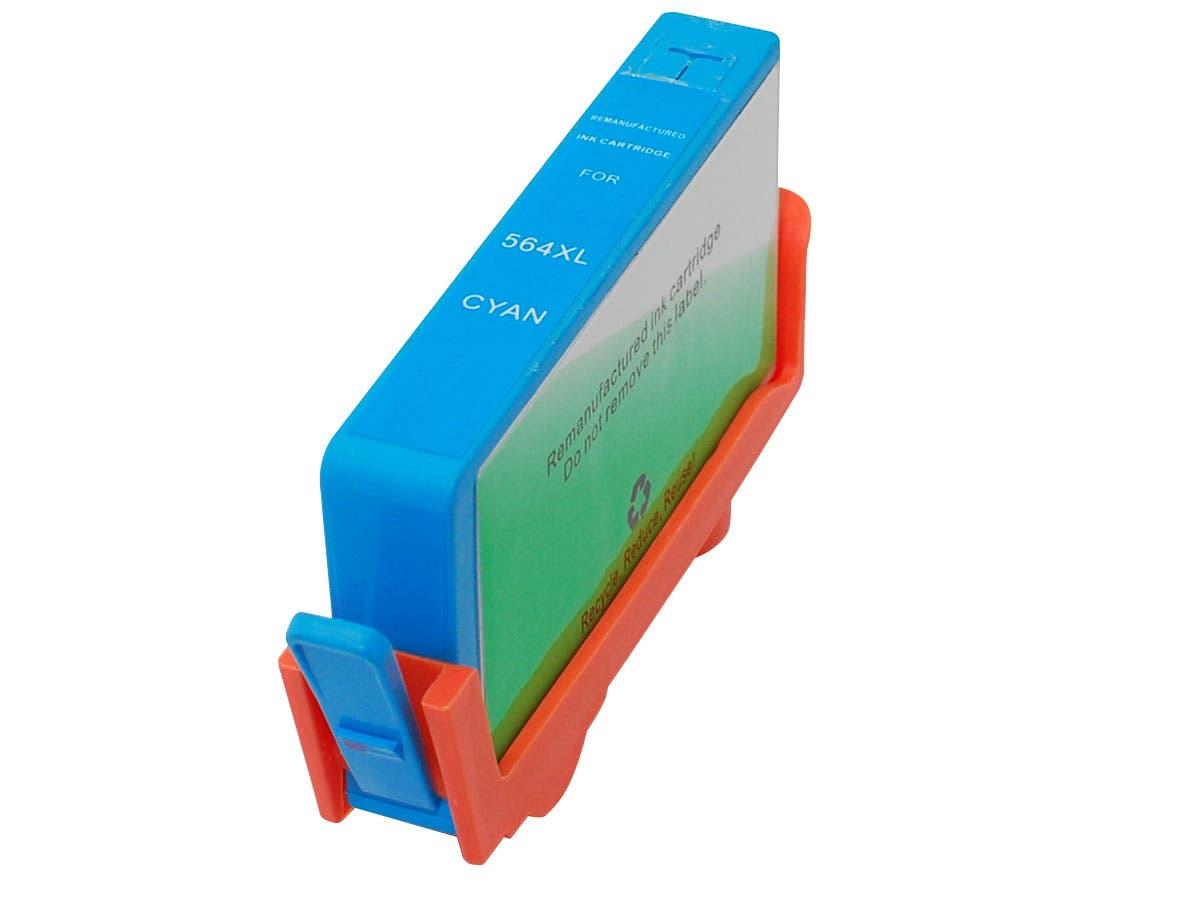 Monoprice Compatible HP 564XLC (CB323WN) Inkjet-Cyan-Large-Image-1