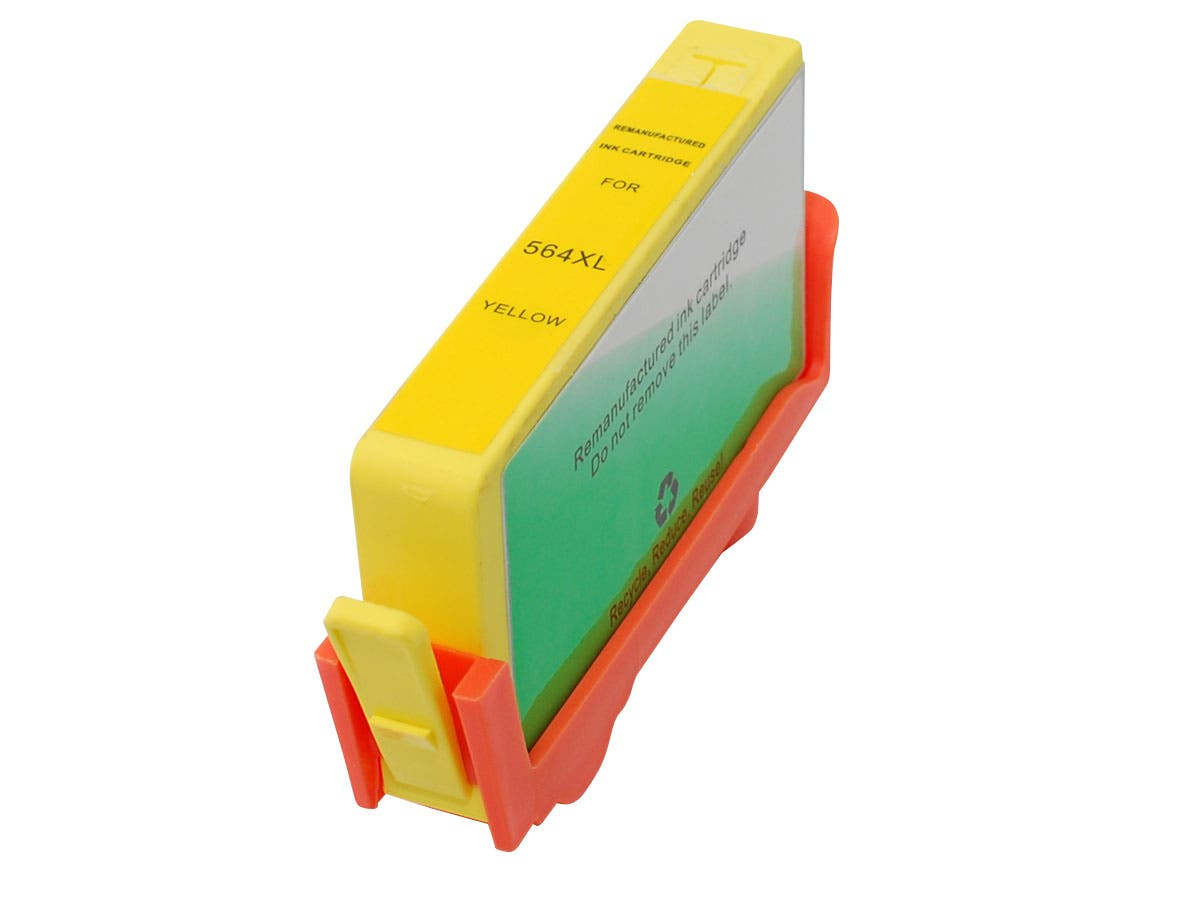 MPI Compatible HP 564XLY (CB325WN) Inkjet-Yellow
