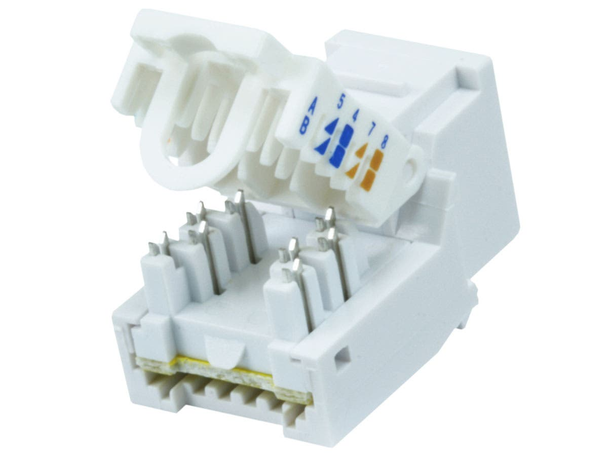 10442 cat6 rj 45 toolless keystone white monoprice com cat6 keystone jack wiring diagram at readyjetset.co