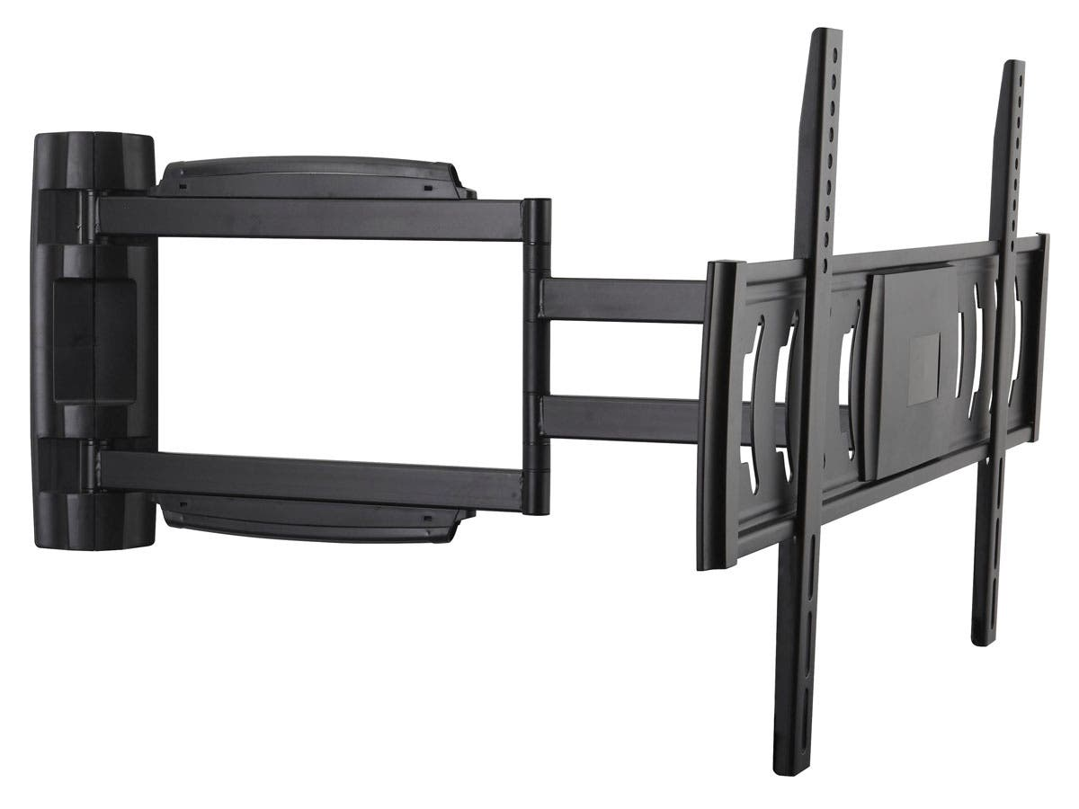 Monoprice Full-Motion Articulating TV Wall Mount Bracket TVs 32in to 55in, Max Weight 55 lbs, Extends from 1.5in to 25.9in, VESA Up to 670x400, Rotating , Concrete & Brick, UL Certified-Large-Image-1