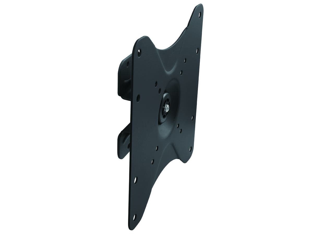 Monoprice Ultra-Slim Full-Motion Articulating TV Wall Mount Bracket - For TVs 23in to 42in, Max Weight 55lbs, VESA Patterns Up to 200x200, Works with Concrete & Brick, UL Certified-Large-Image-1