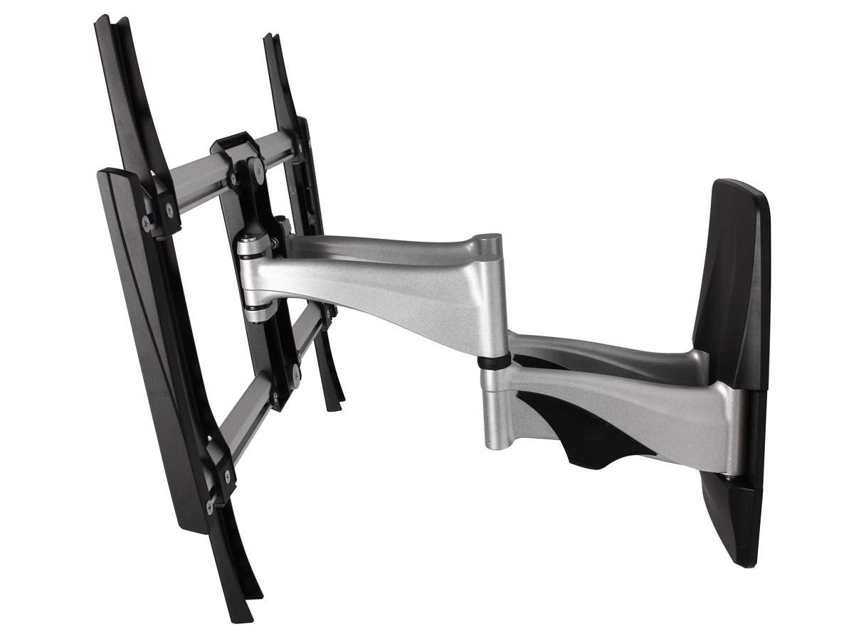 monoprice 10470 full motion tv wall mount max 99 lbs 37 70 inch 691197110582 ebay. Black Bedroom Furniture Sets. Home Design Ideas