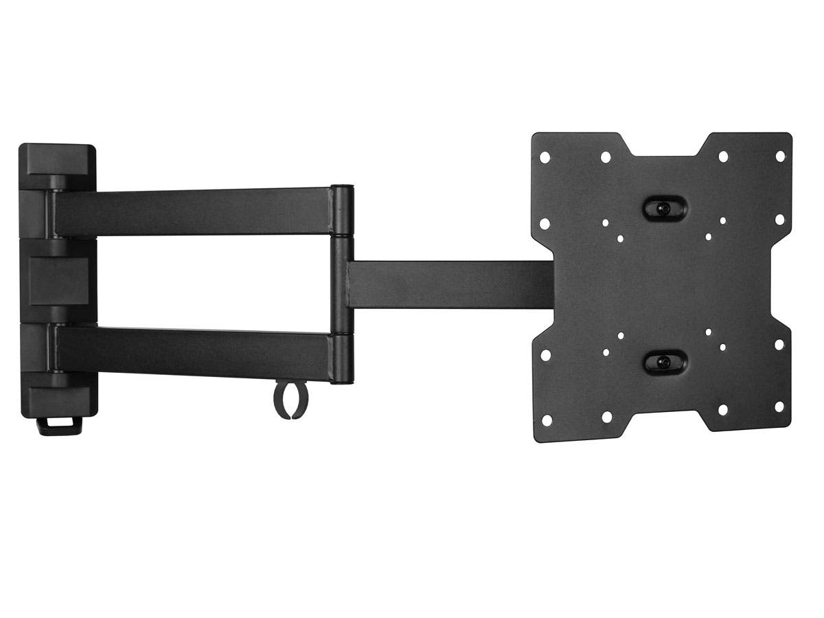 Stable Series Small Full Motion Wall Mount for Small 20~42in TVs, Max 77 lbs UL Certified