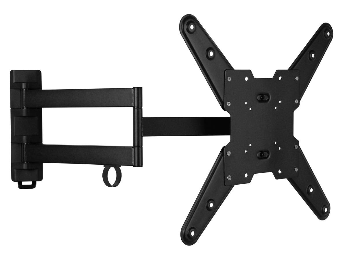 Stable Series Small Full Motion Wall Mount for Medium 20 - 42 inch TV's Max 77 lbs UL Certified