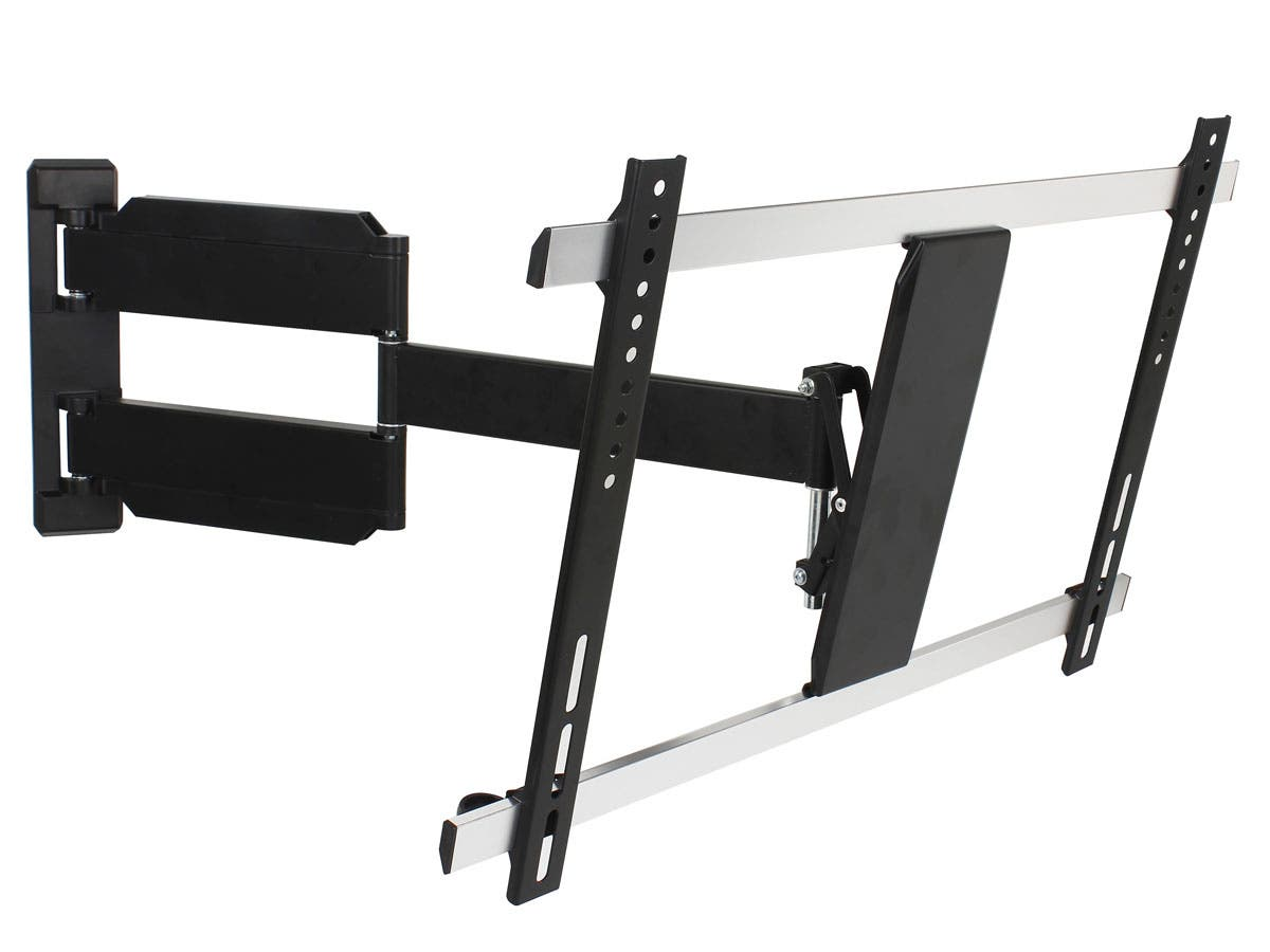 Monoprice Full-Motion Articulating TV Wall Mount Bracket - For TVs 32in to 70in, Max Weight 55lbs, VESA Patterns Up to 600x400, Works with Concrete & Brick, UL Certified-Large-Image-1
