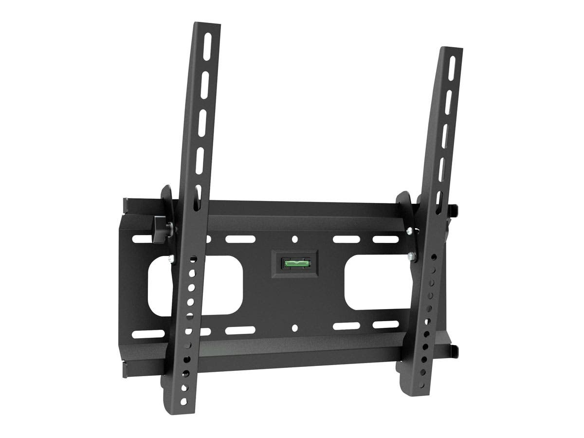 Monoprice Stable Series Tilt TV Wall Mount Bracket For TVs 32in to 55in, Max Weight 165lbs, VESA Patterns Up to 410x410, UL Certified-Large-Image-1