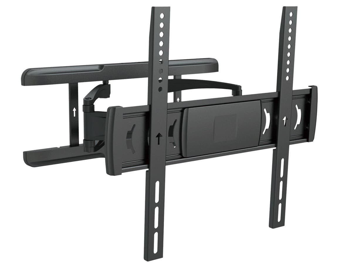 Full-Motion Wall Mount for Medium Sized Displays Max 55 lbs