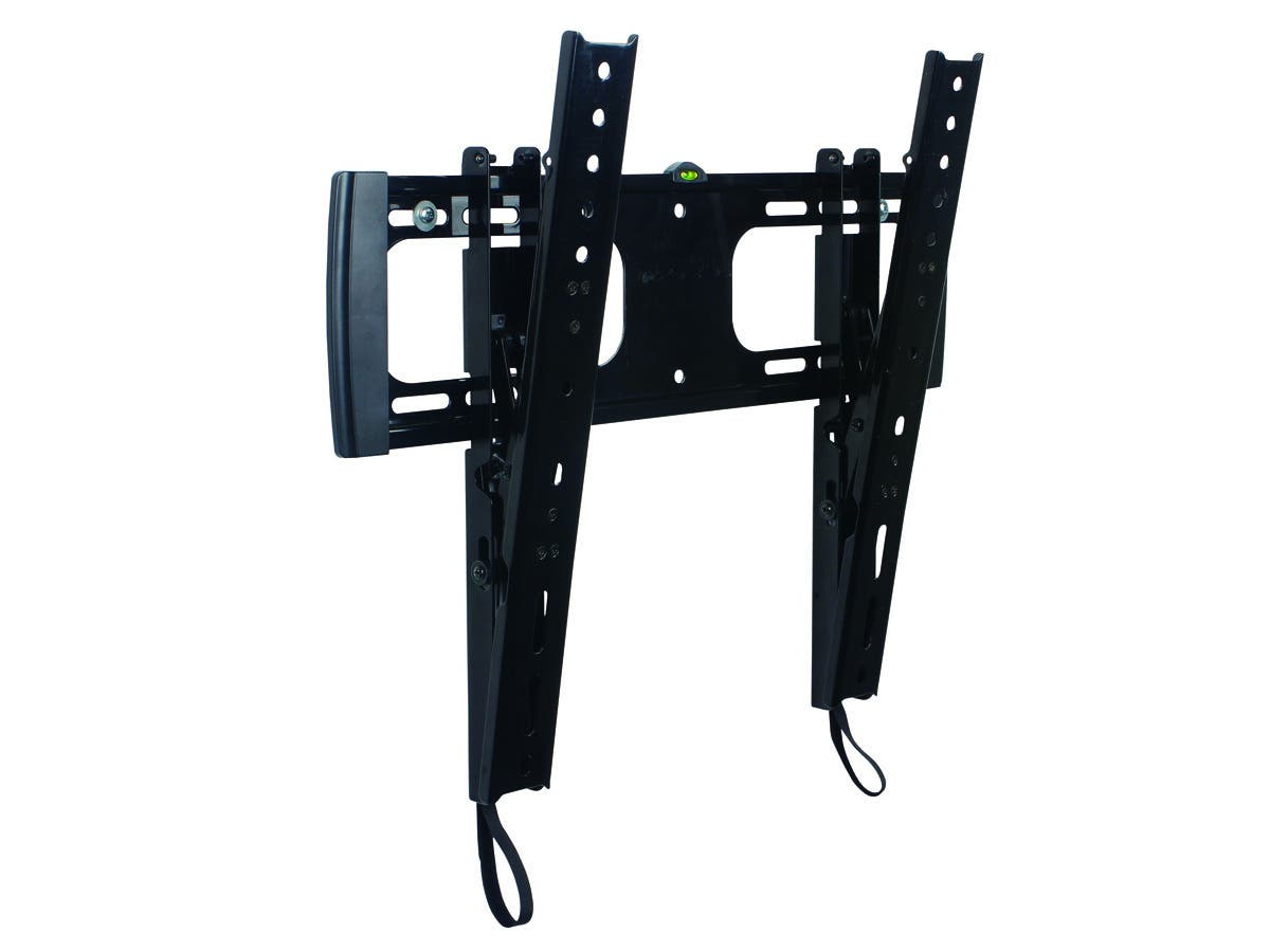 Stable Series Tilt TV Wall Mount Bracket - For TVs 32in to 55in, Max Weight 88lbs, VESA Patterns Up to 410x402, Works with Concrete & Brick, UL Certified-Large-Image-1
