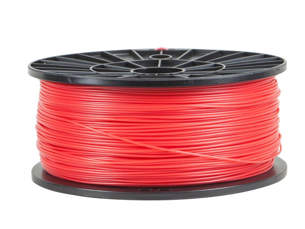 Monoprice Premium 3D Printer Filament ABS 1.75MM 1kg/spool, Red-Large-Image-1