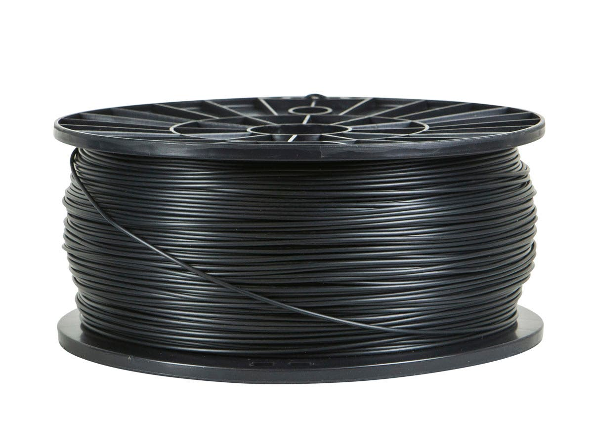 Monoprice Premium 3D Printer Filament PLA 1.75mm 1kg/spool, Black-Large-Image-1