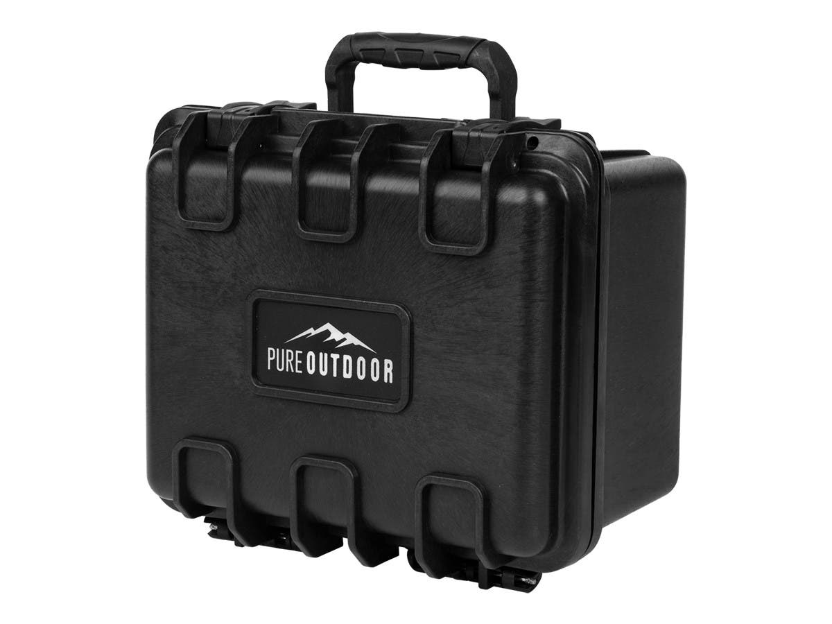 Monoprice Weatherproof Hard Case with Customizable Foam, 10x9x7-inch-Large-Image-1