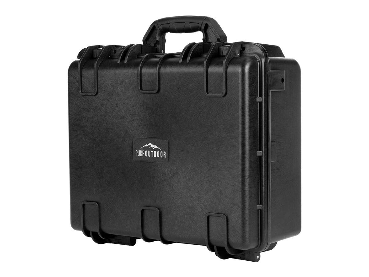 Weatherproof Hard Case with Customizable Foam, 19x16x8-inch