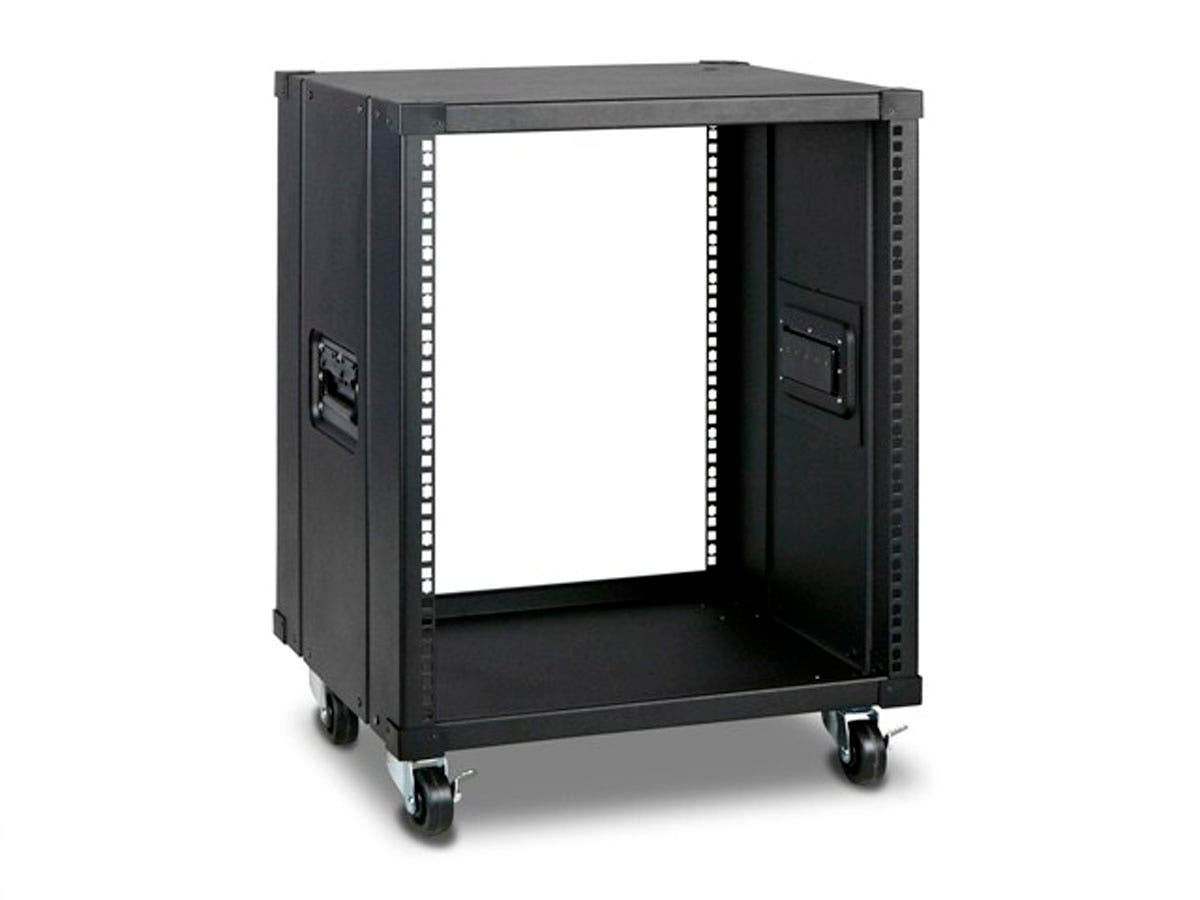Monoprice 12U 450mm Depth Simple Server Rack - GSA Approved-Large-Image-1