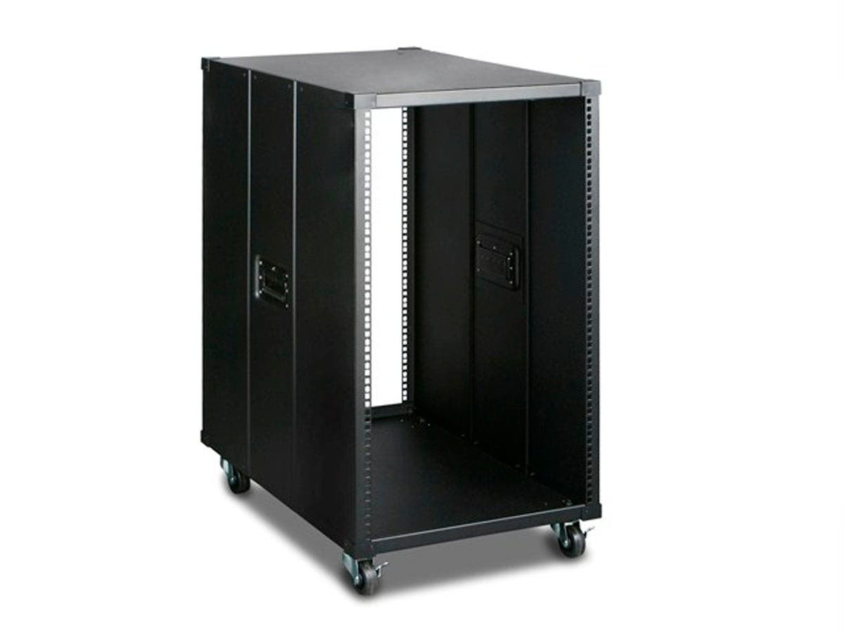 Monoprice 18U 800mm Depth Simple Server Rack - GSA Approved-Large-Image-1