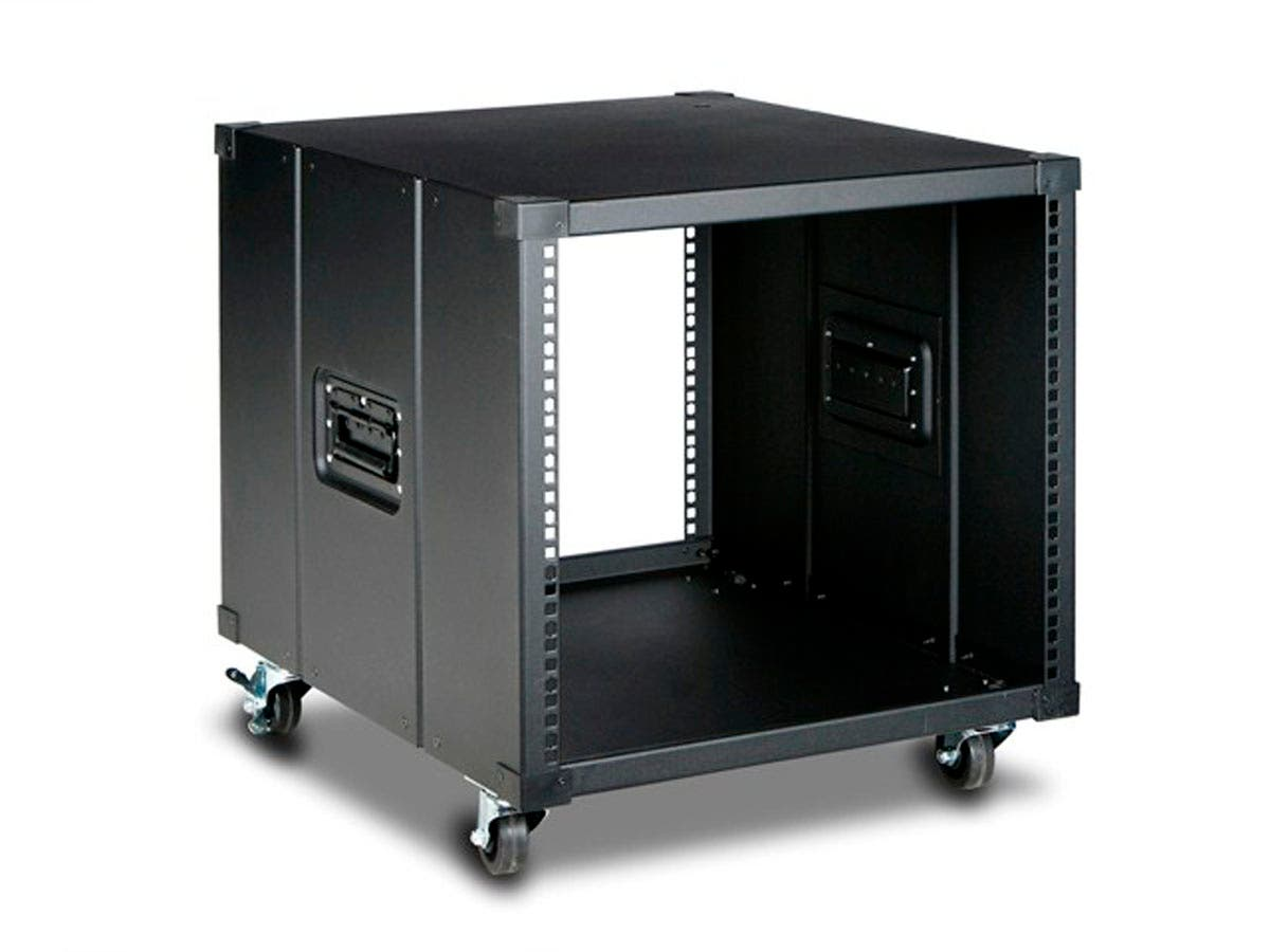 Monoprice 9U 600mm Depth Simple Server Rack - GSA Approved-Large-Image-1
