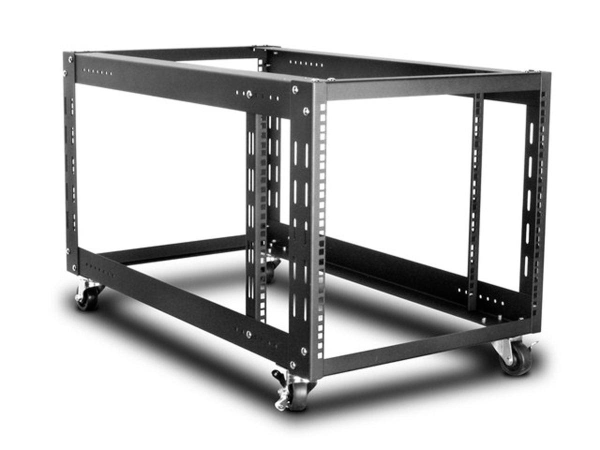Monoprice 9U 900mm Open Frame Rack-Large-Image-1