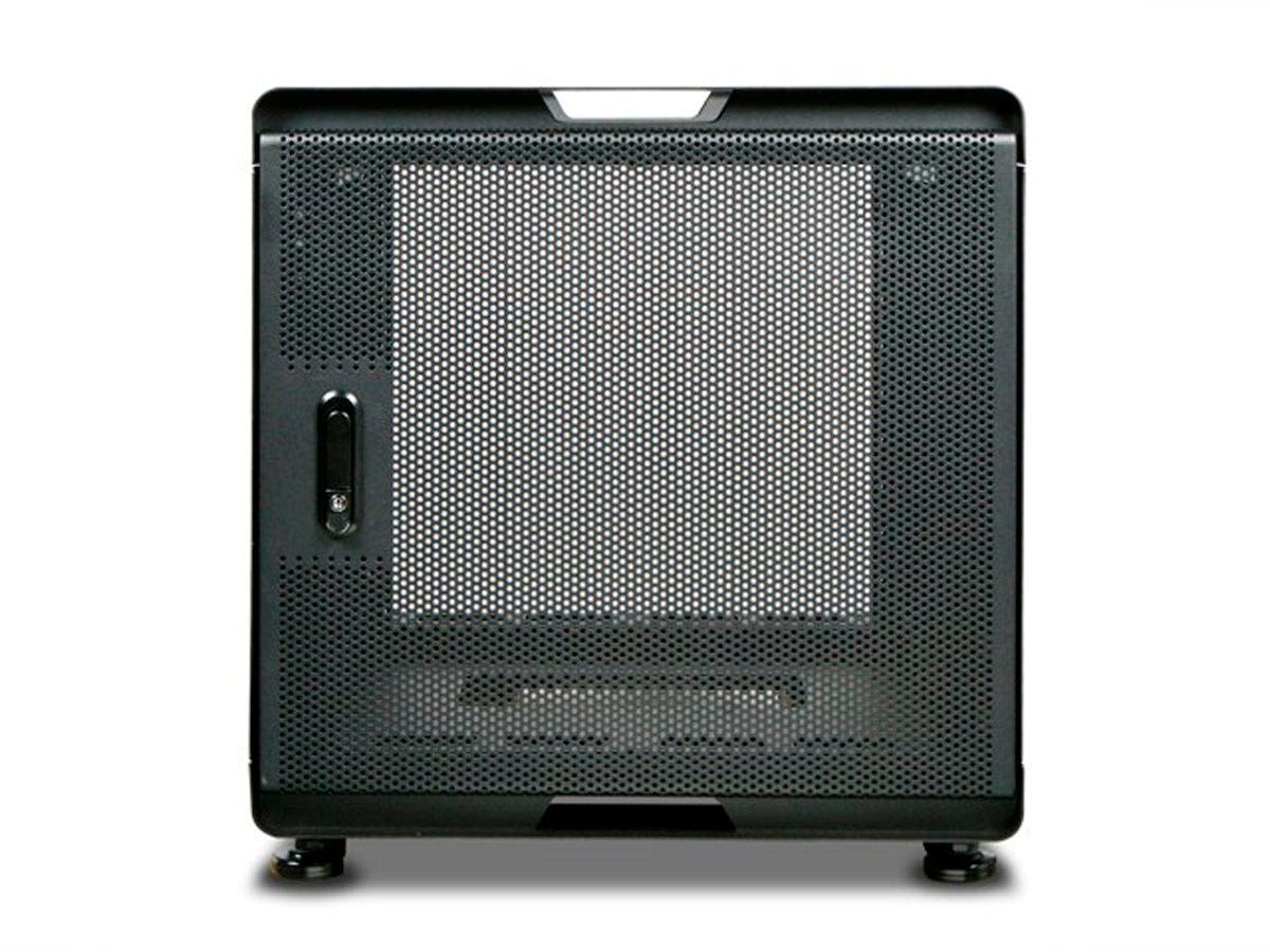 Monoprice 10U 700mm Depth Audio/Video Rackmount Cabinet   GSA Approved Small  Image
