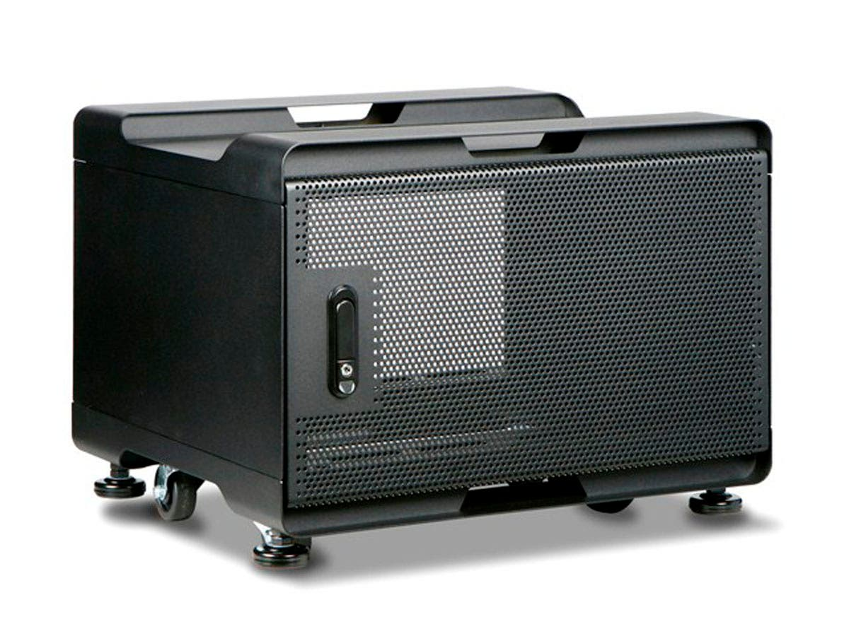 6U 500mm Depth Audio/Video Rackmount Cabinet - GSA Approved