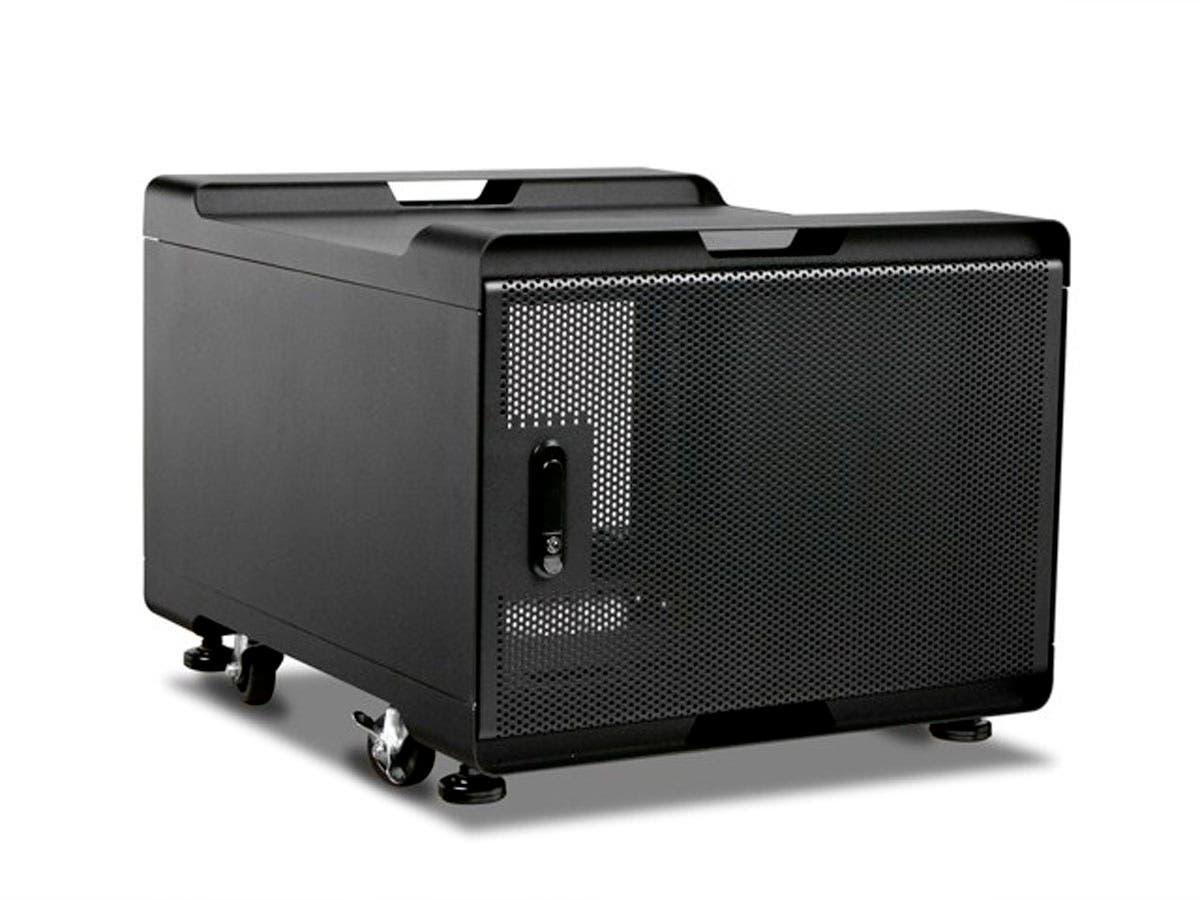 Monoprice 7U 700mm Depth Audio/Video Rackmount Cabinet - GSA Approved-Large-Image-1