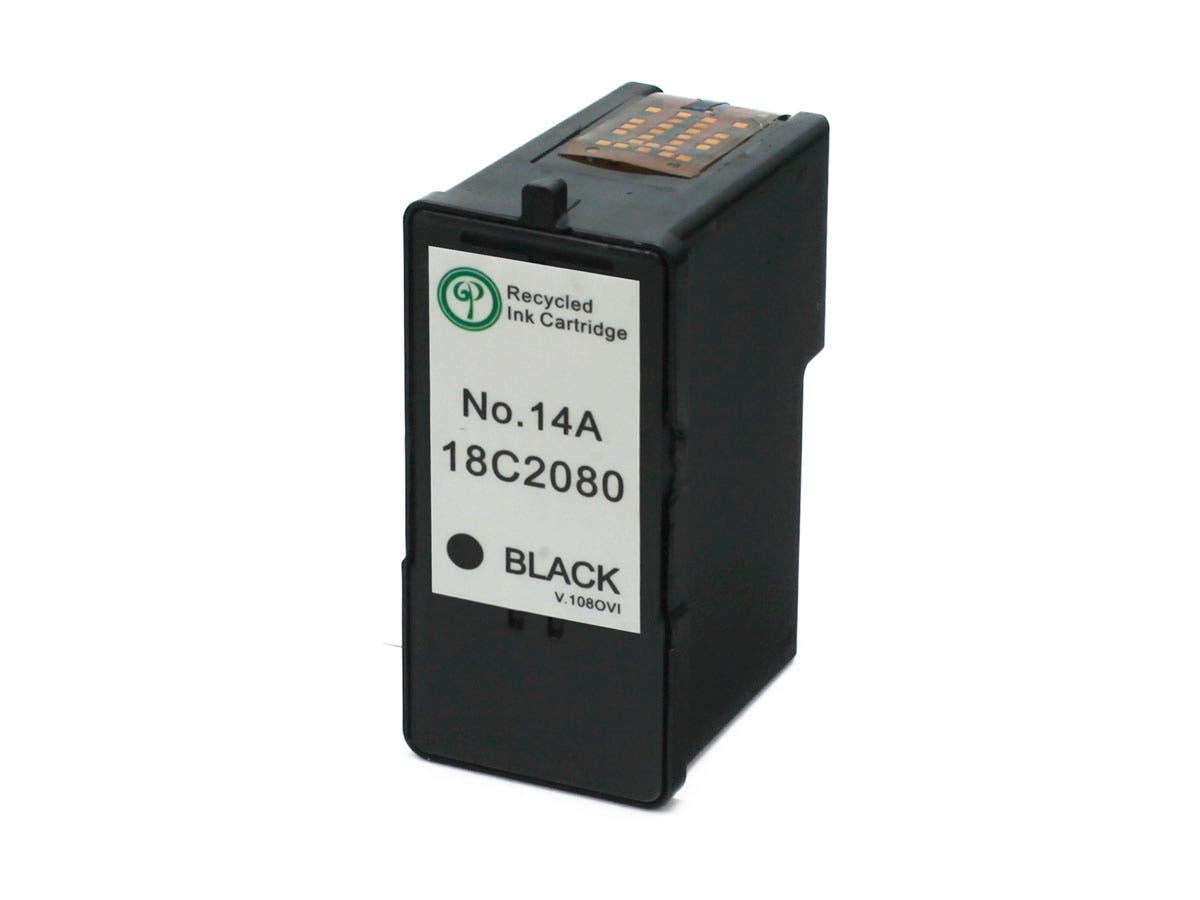 Monoprice Compatible Lexmark 18C2080(14A) Inkjet-Black-Large-Image-1