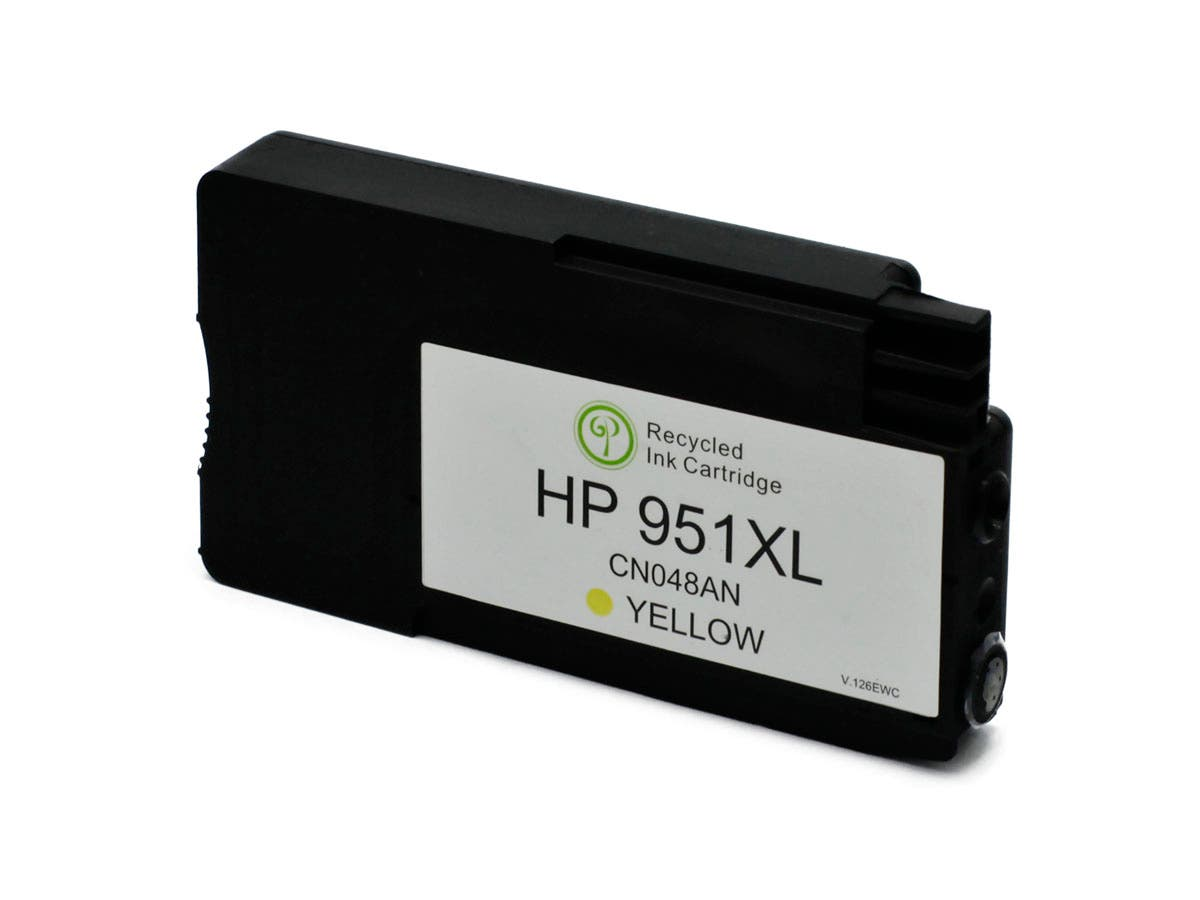 MPI remanufactured HP 951XL (CN048AN) Inkjet-Yellow (High Yield) (Chip revised 9/2015 for HP Recognition)-Large-Image-1