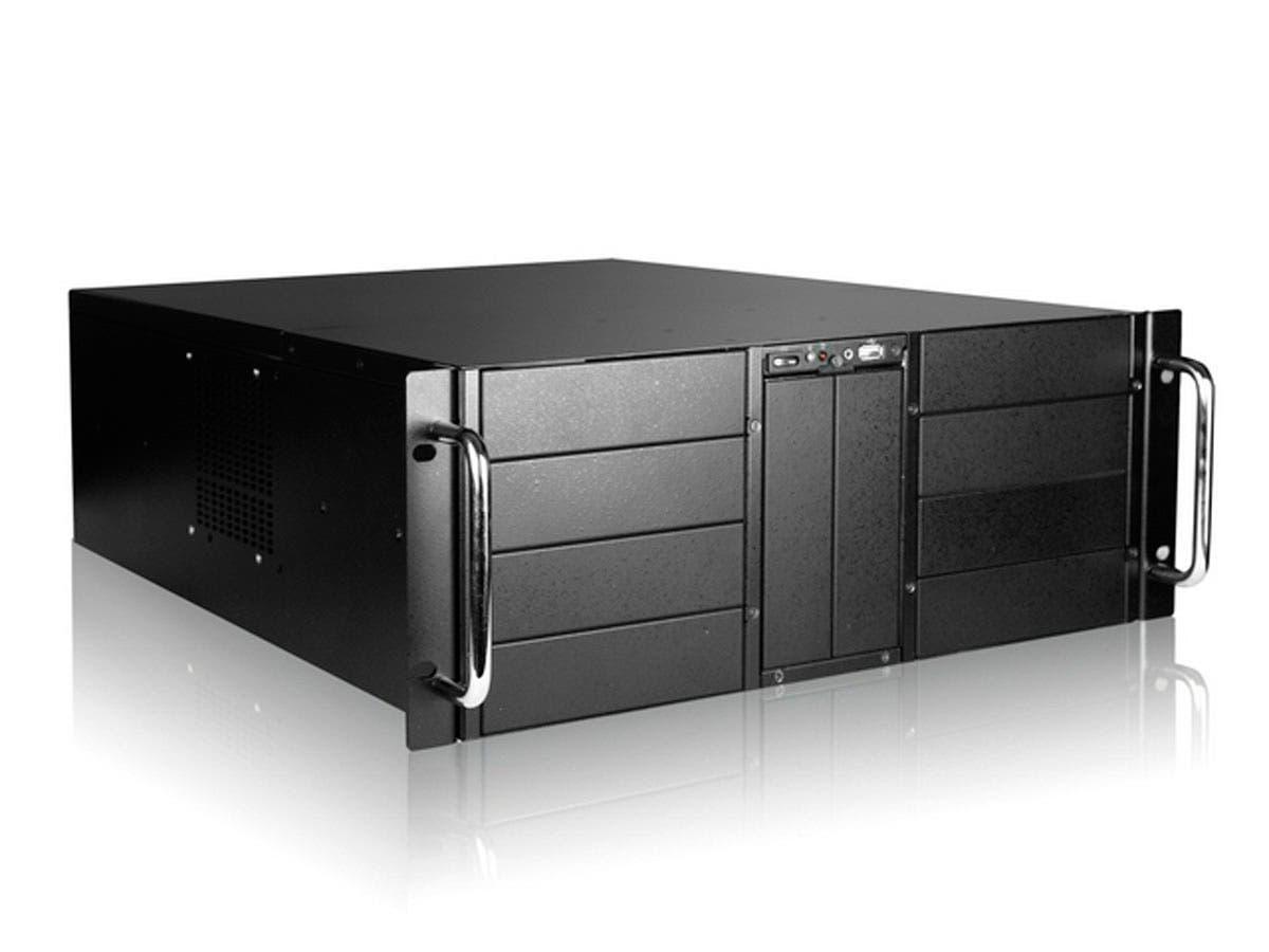 Monoprice 4U 10-Bay Stylish Storage Server Chassis-Large-Image-1