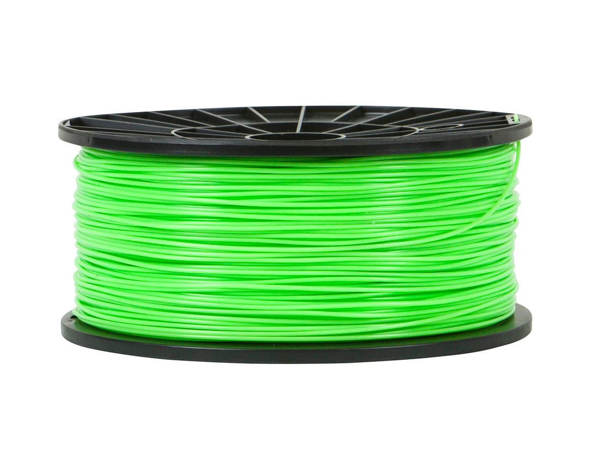 Premium 3D Printer Filament PLA 1.75mm 1kg/spool, Bright Green