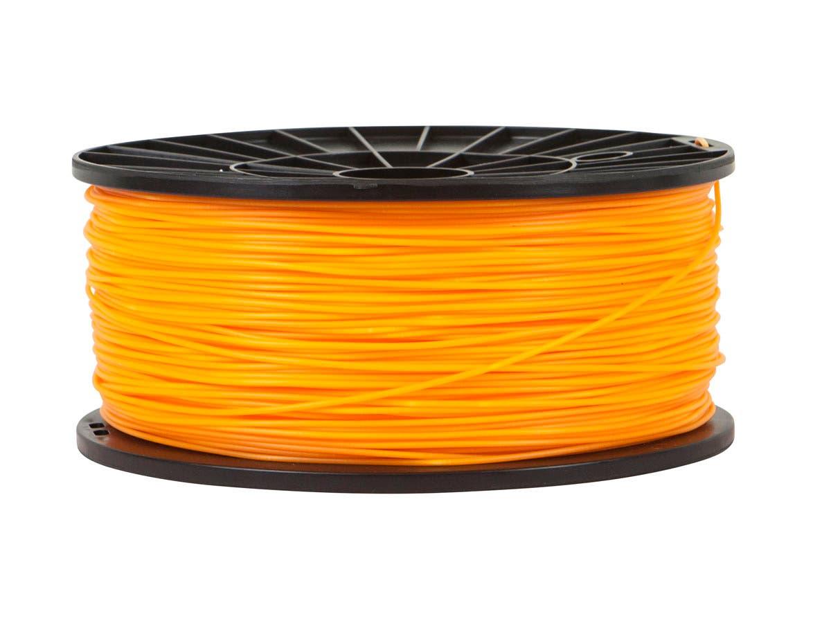 Premium 3D Printer Filament PLA 1.75MM 1kg/spool, Bright Orange