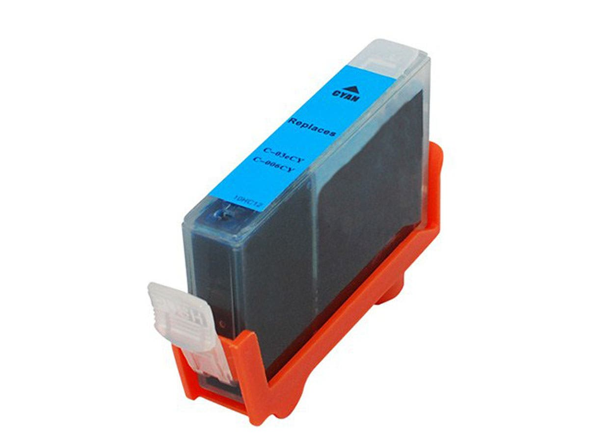 MPI Compatible Canon BCI-3eC BCI-5/6C Inkjet- Cyan (High Yield)-Large-Image-1