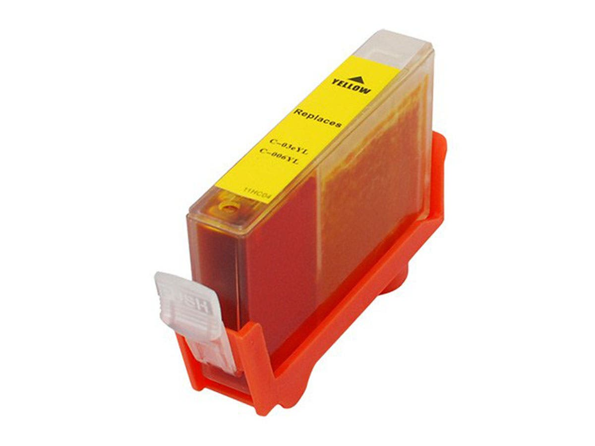 MPI Compatible Canon BCI-3eY BCI-5/6Y Inkjet- Yellow (High Yield)-Large-Image-1