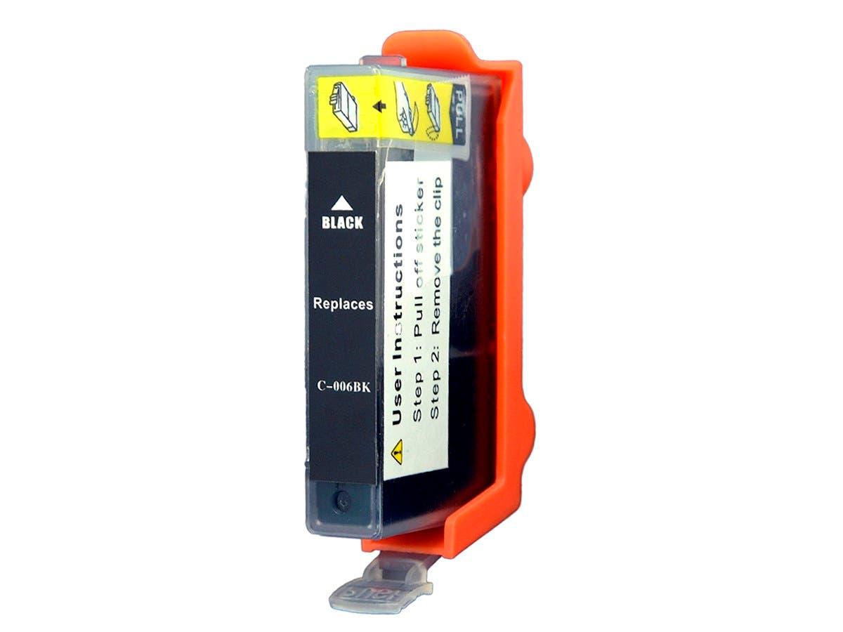 MPI Compatible Canon BCI-3ePBK/ BCI-5/6Bk Inkjet- Photo Black (High Yield)-Large-Image-1