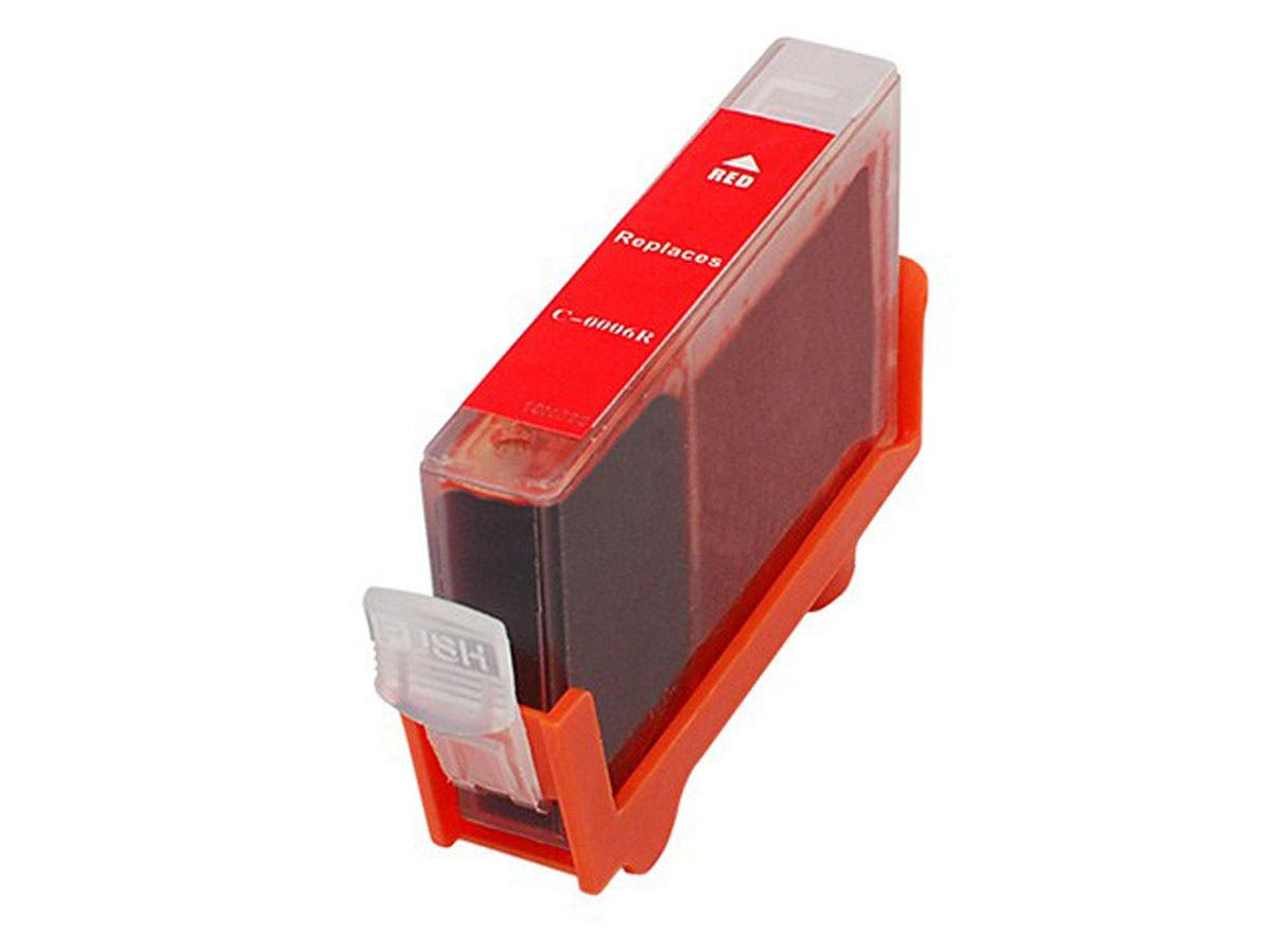 MPI Compatible Canon BCI-6R Inkjet- Red