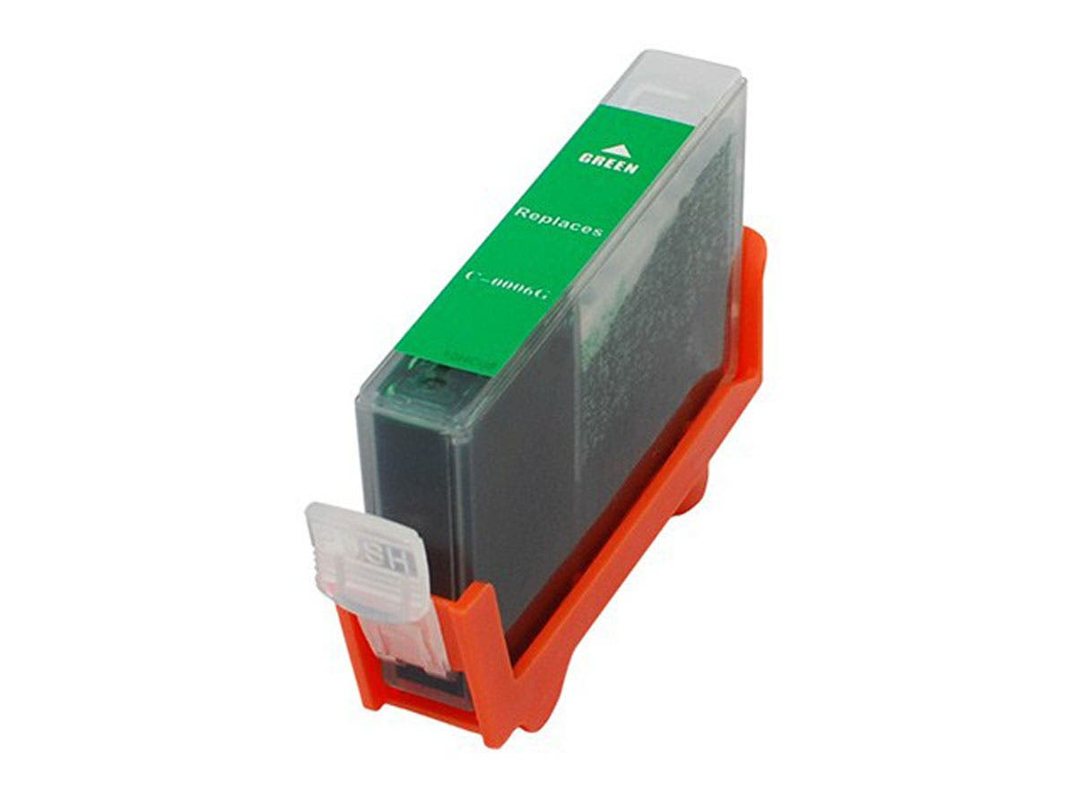 Monoprice Compatible Canon BCI-6G Inkjet- Green-Large-Image-1