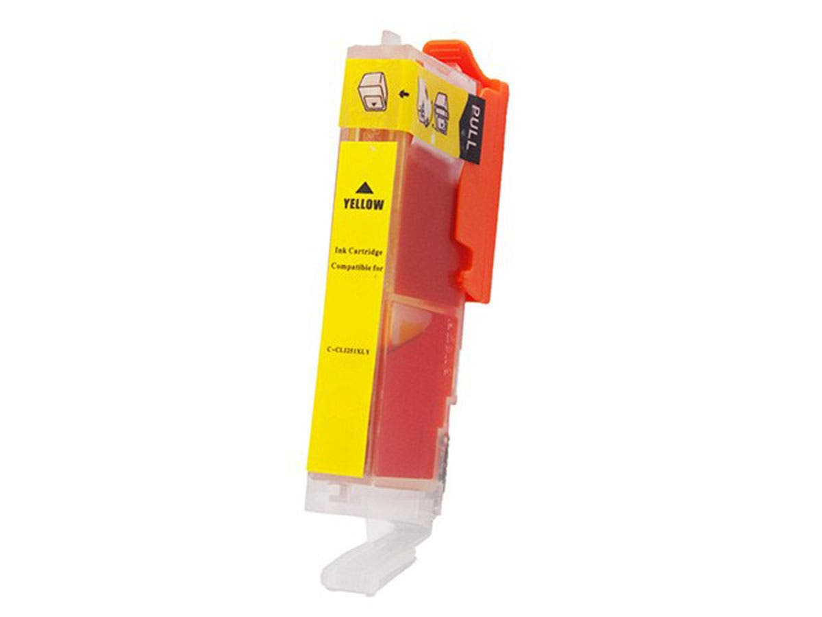 Monoprice Compatible Canon CLI-251XLY Inkjet- Yellow-Large-Image-1