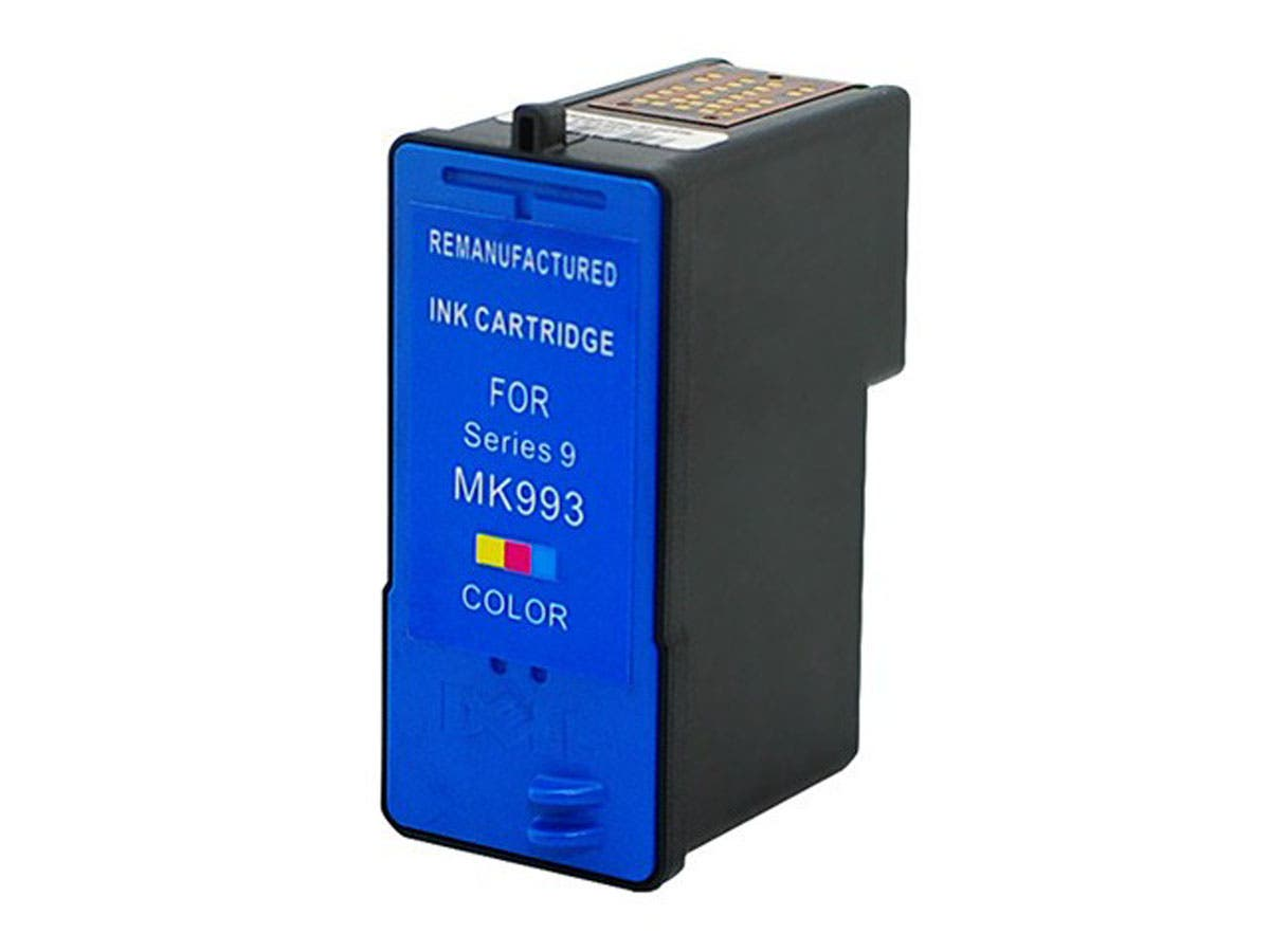 Monoprice Compatible Dell MK993 (Series 9) Inkjet- Tri Color-Large-Image-1