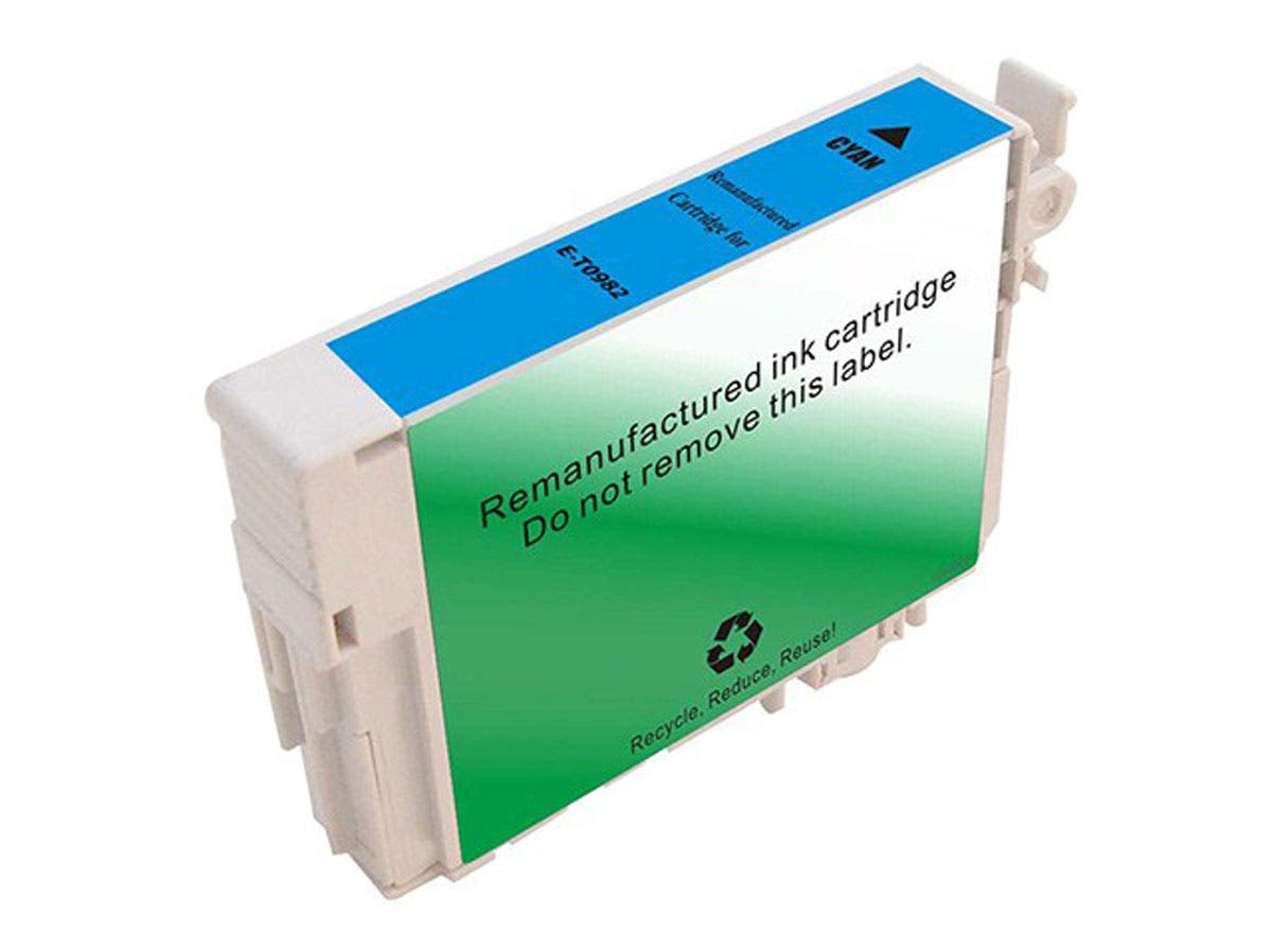 MPI Remanufactured Cartridge for Epson T098220 Inkjet- Cyan
