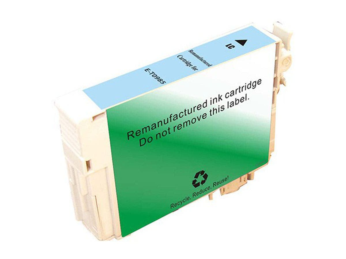Monoprice Remanufactured Cartridge for Epson T098520 Inkjet- Light Cyan-Large-Image-1