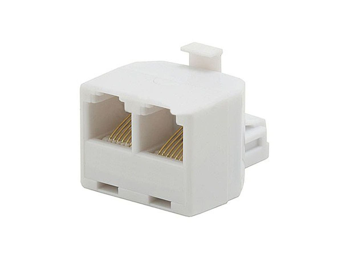 Monoprice T Adapter 6P6C - 1M/2F-Large-Image-1