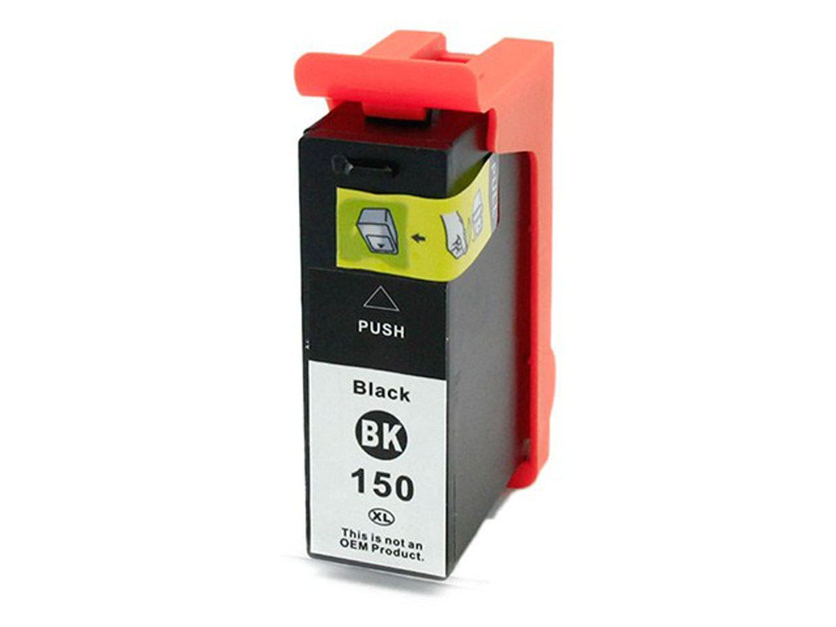 MPI Compatible Lexmark 150XLBK (14n1614/14N1636) Inkjet- Black-Large-Image-1