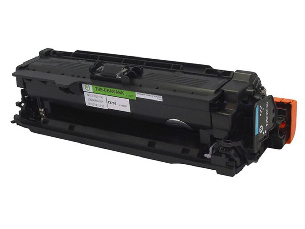 Monoprice Compatible HP CE400A Laser Toner - Black-Large-Image-1