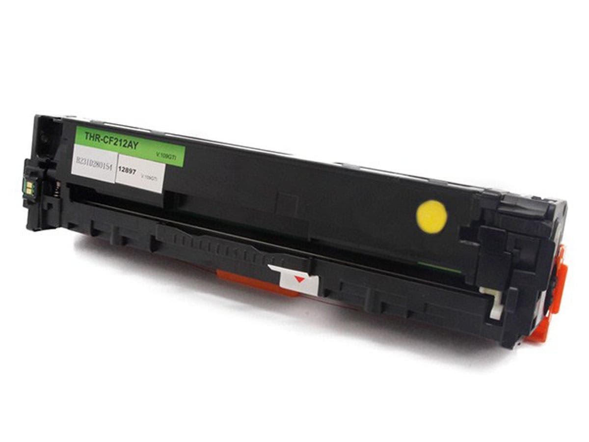 MPI Compatible HP CF212A Laser Toner -  Yellow