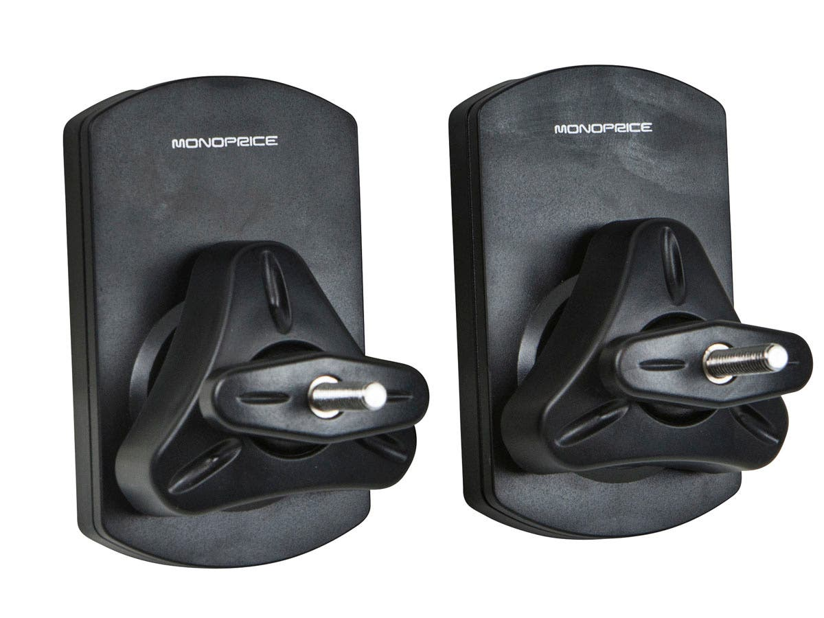 Monoprice Low Profile 22 Lb Capacity Speaker Wall Mount