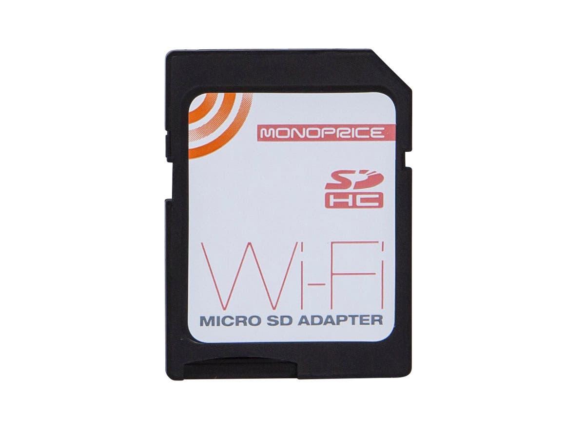 Wi-Fi microSD Adapter (Rev.2), Wi-Fi SD Card