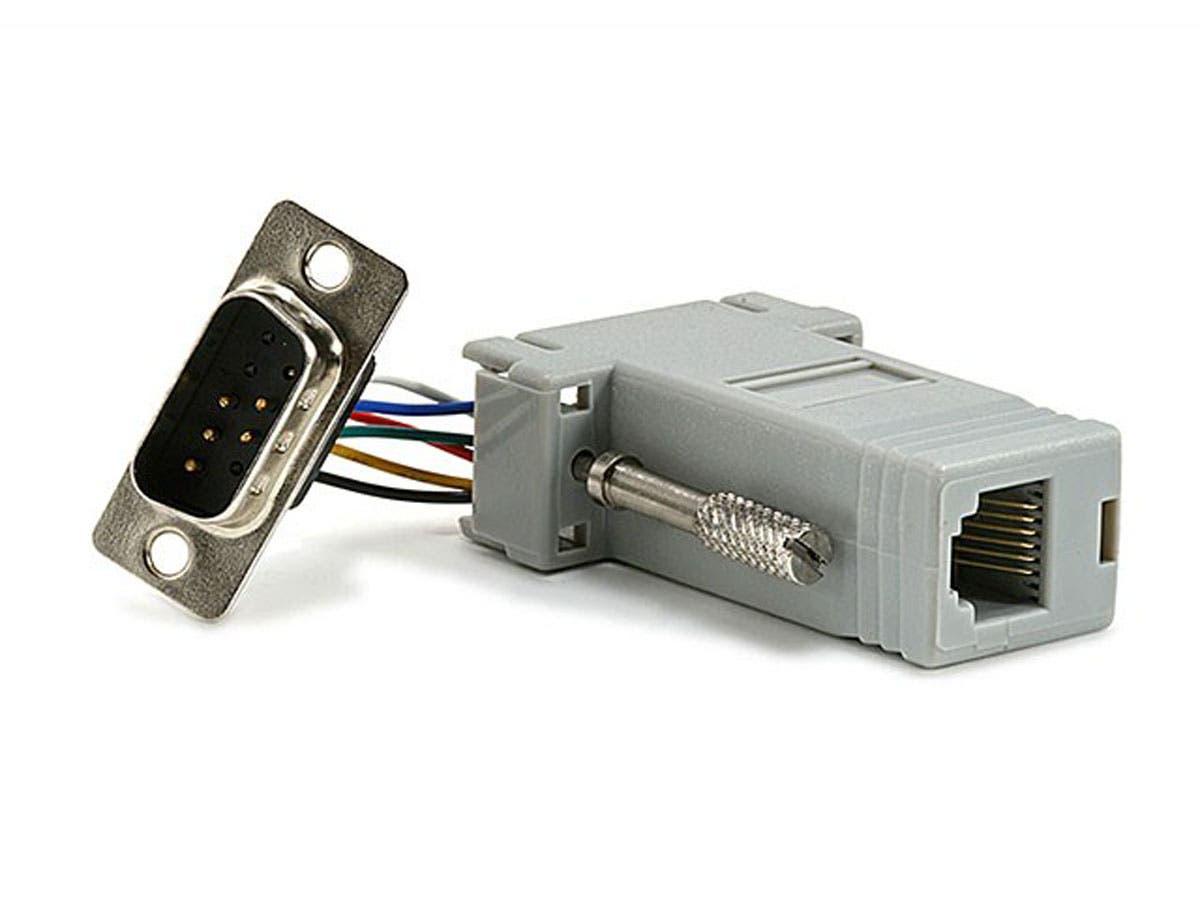 DB9M/RJ-12,Modular Adapter -Large-Image-1