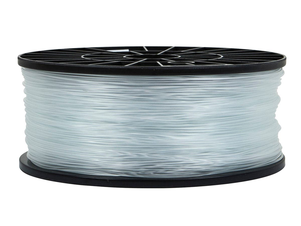 Premium 3D Printer Filament ABS 1.75MM 1kg/spool, Crystal Clear-Large-Image-1