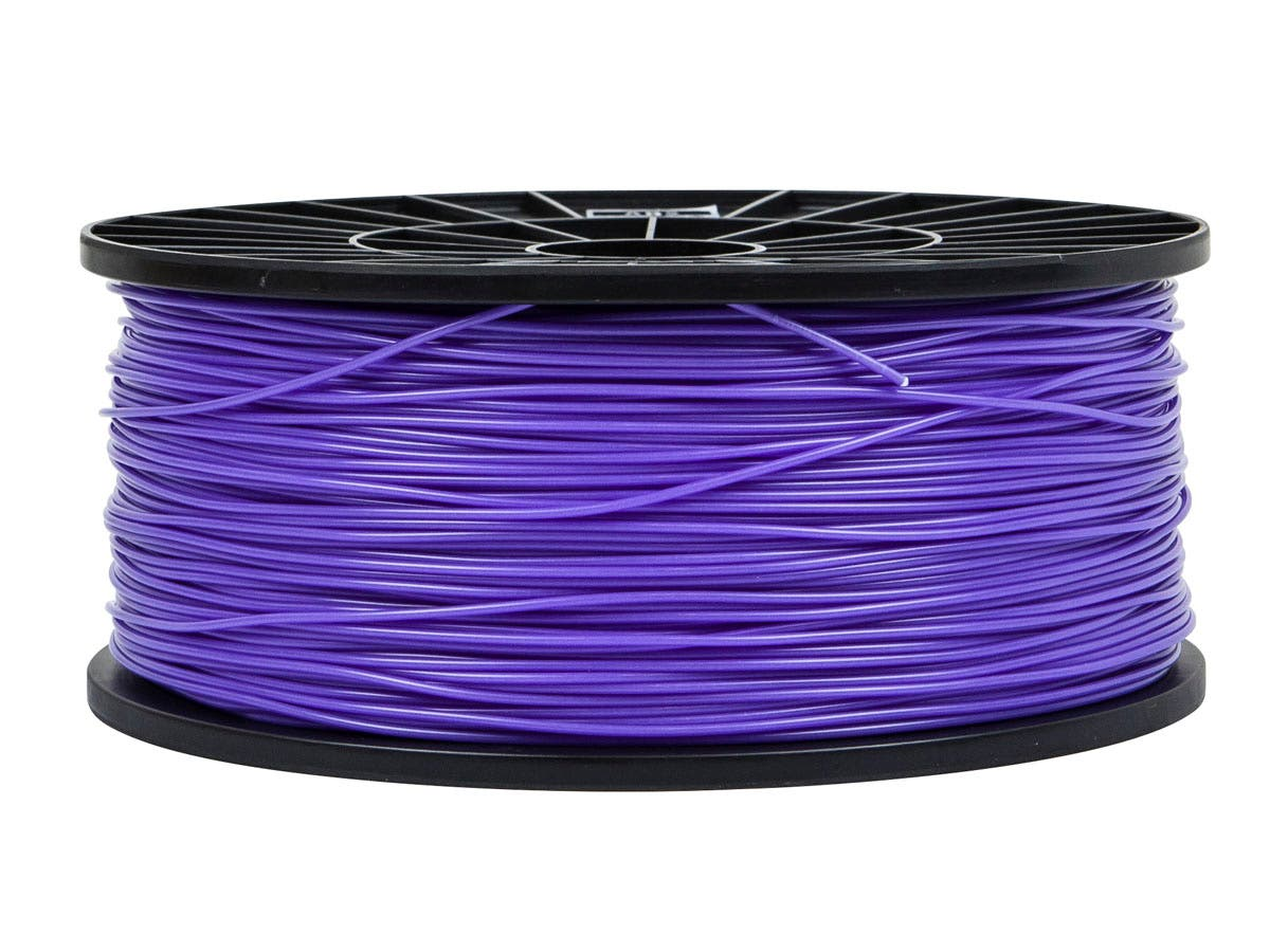 Monoprice Premium 3D Printer Filament ABS 1.75MM 1kg/spool, Ultra Violet-Large-Image-1