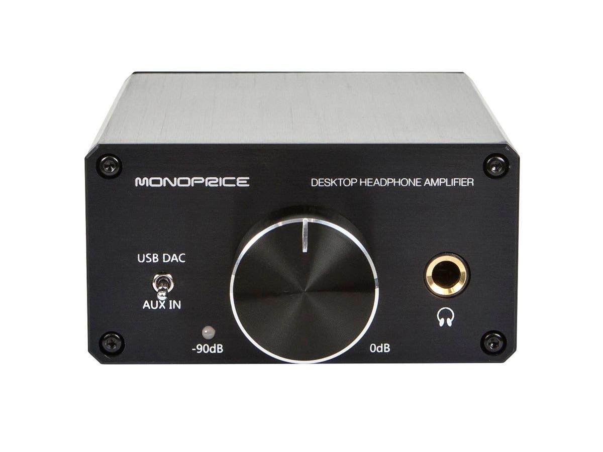 Monoprice Desktop Headphone Amplifier Monoprice Com